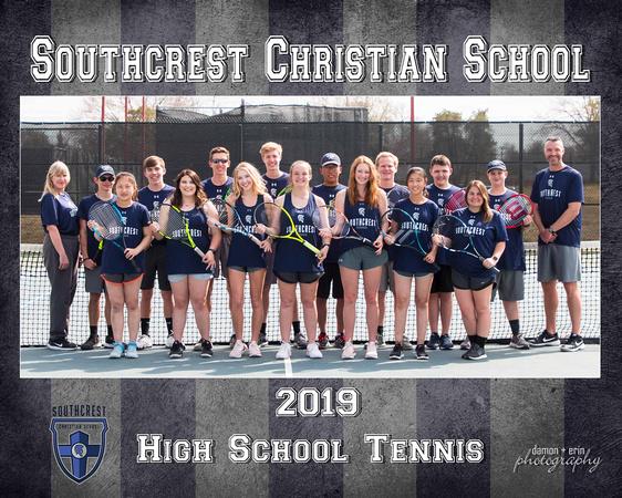 SCS HS Tennis 8x10 2019